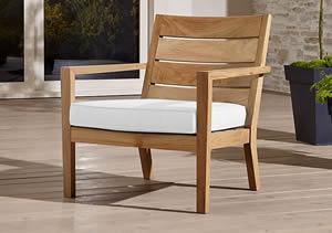 Teak Lounge Chair Cushion