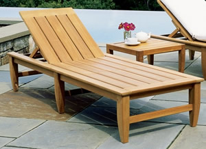 Genial Teak Wood Lounge Chair